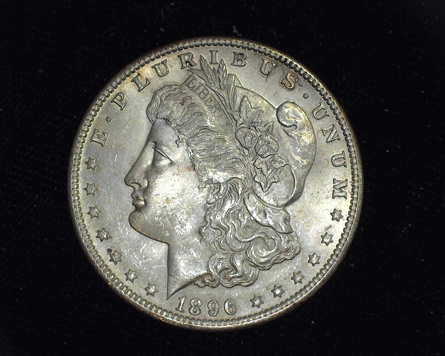 1896 Morgan BU MS-64 Obverse - US Coin - Huntington Stamp and Coin