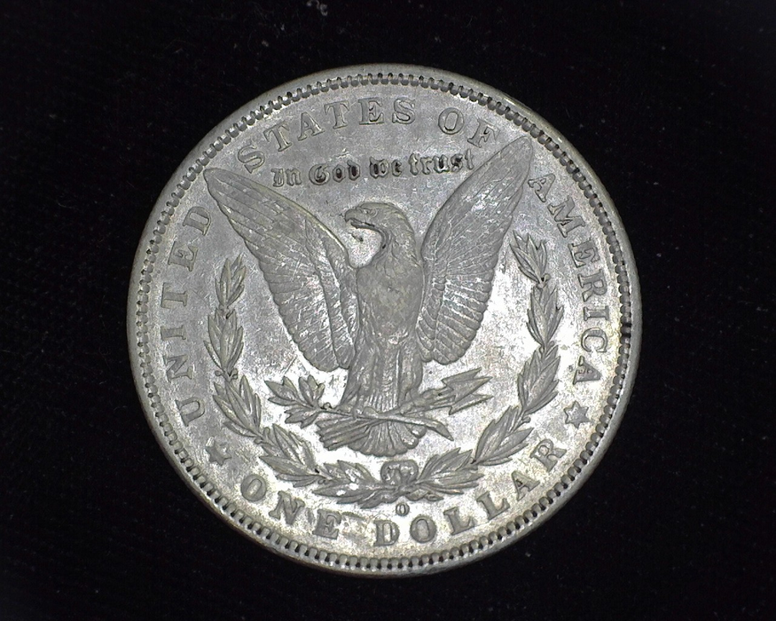 1896 O Morgan AU Reverse - US Coin - Huntington Stamp and Coin