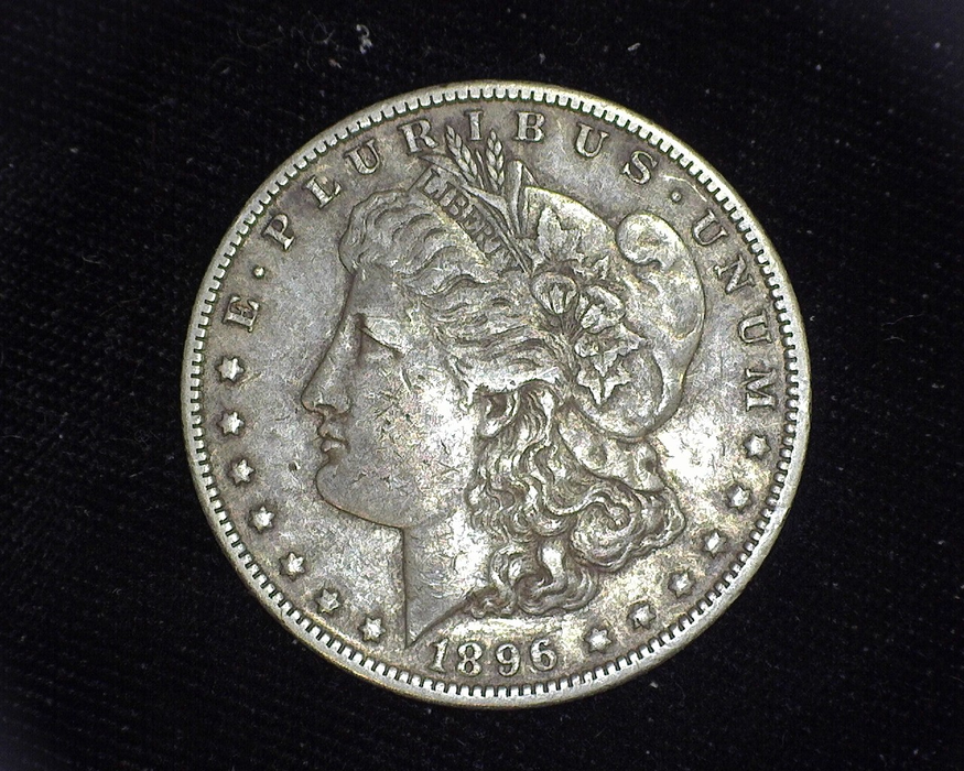 1896 O Morgan XF Obverse - US Coin - Huntington Stamp and Coin