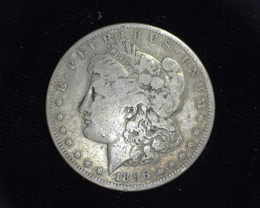 1896 S Morgan Silver Dollar VG - US Coin
