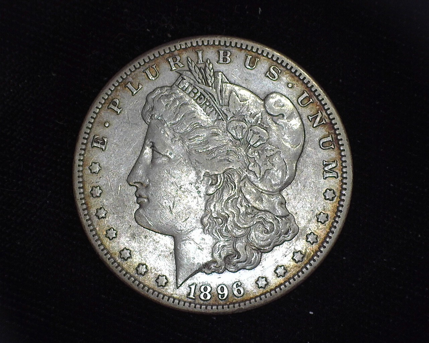 1896 S Morgan XF Obverse - US Coin - Huntington Stamp and Coin