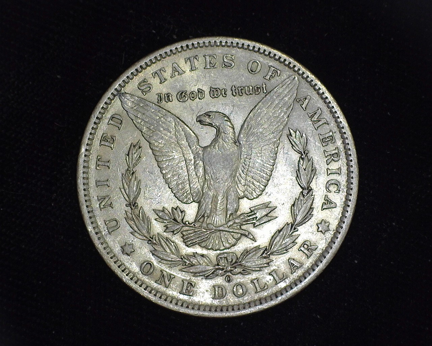 1897 O Morgan AU Reverse - US Coin - Huntington Stamp and Coin