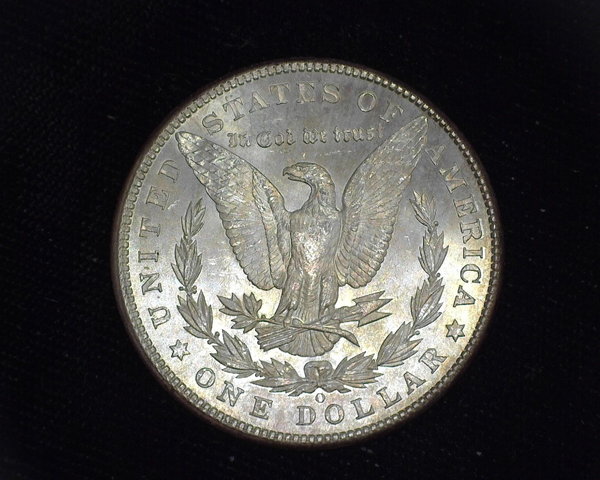 1902 O Morgan BU MS-64 Reverse - US Coin - Huntington Stamp and Coin