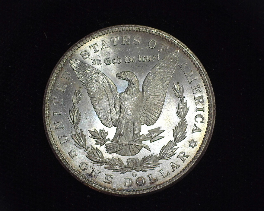 1904 O Morgan MS-64 Reverse - US Coin - Huntington Stamp and Coin