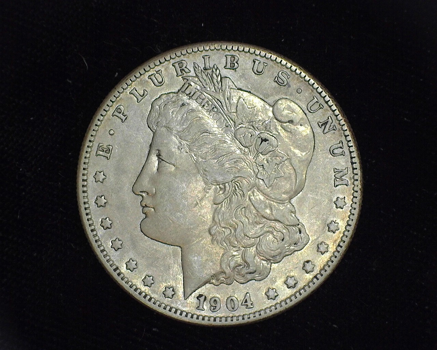 1904 S Morgan XF Obverse - US Coin - Huntington Stamp and Coin