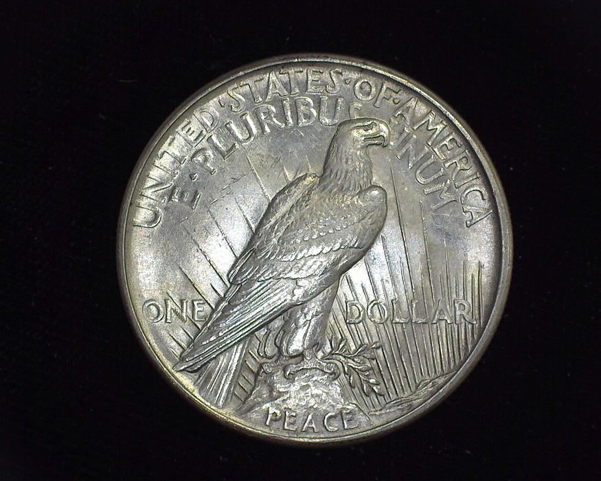 1921 Peace BU MS-63 Reverse - US Coin - Huntington Stamp and Coin