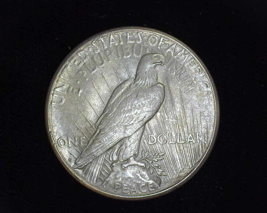 1922 S Peace BU Choice. Reverse - US Coin - Huntington Stamp and Coin