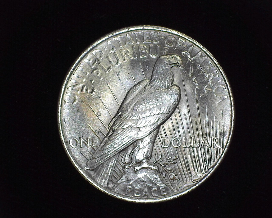 1923 Peace BU MS-64 Reverse - US Coin - Huntington Stamp and Coin