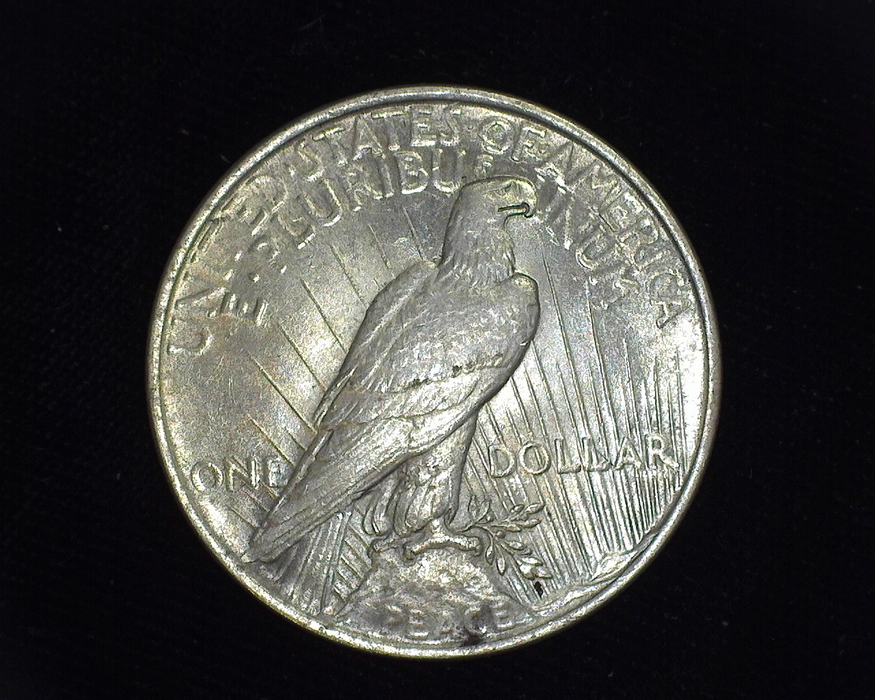 1924 Peace BU MS-64 Reverse - US Coin - Huntington Stamp and Coin