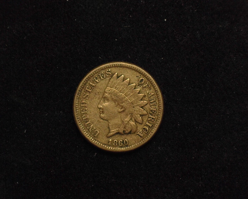 1860 Indian Head VF Obverse - US Coin - Huntington Stamp and Coin