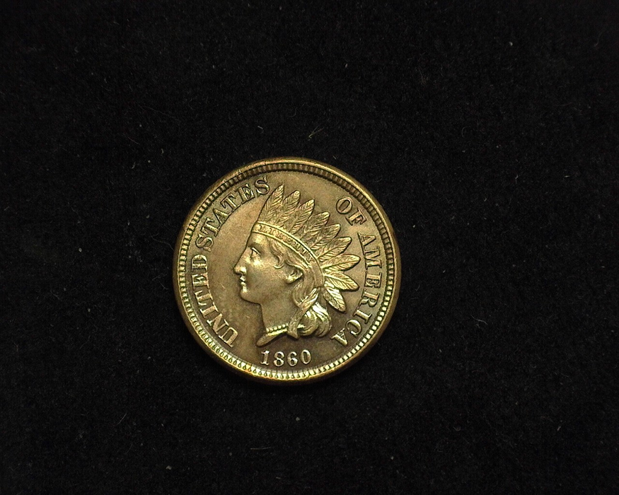 1860 Indian Head BU MS-63 Obverse - US Coin - Huntington Stamp and Coin