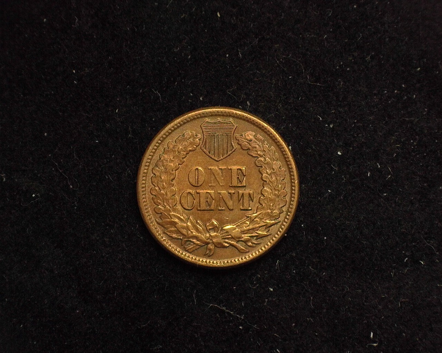 1863 Indian Head XF/AU Reverse - US Coin - Huntington Stamp and Coin