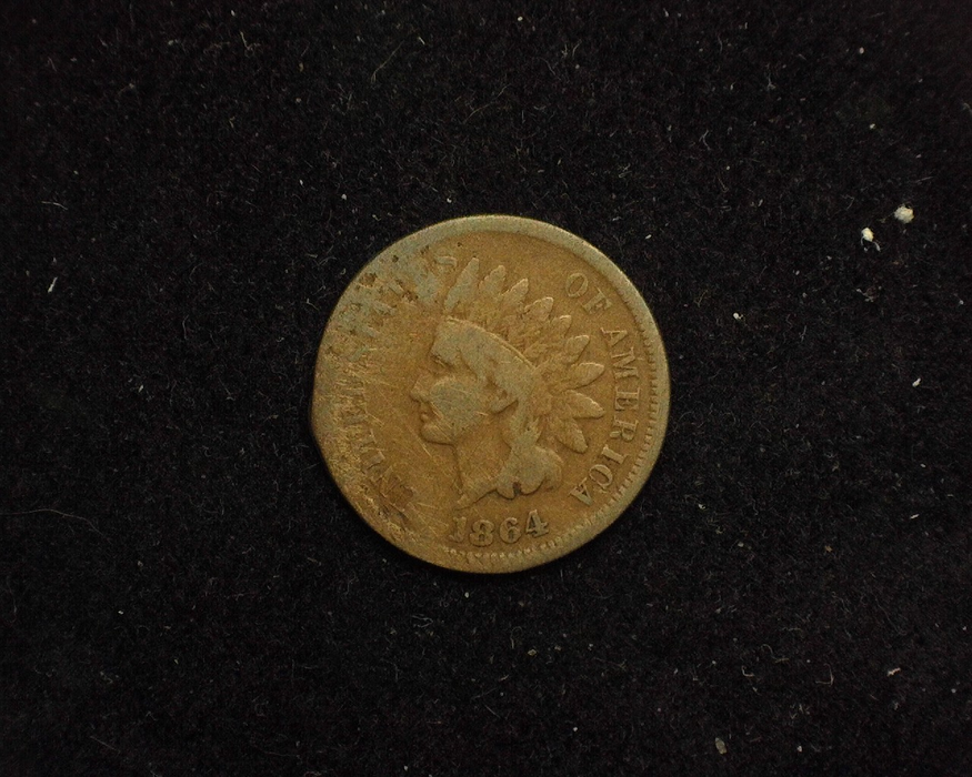 1864 Indian Head VG L Obverse - US Coin - Huntington Stamp and Coin