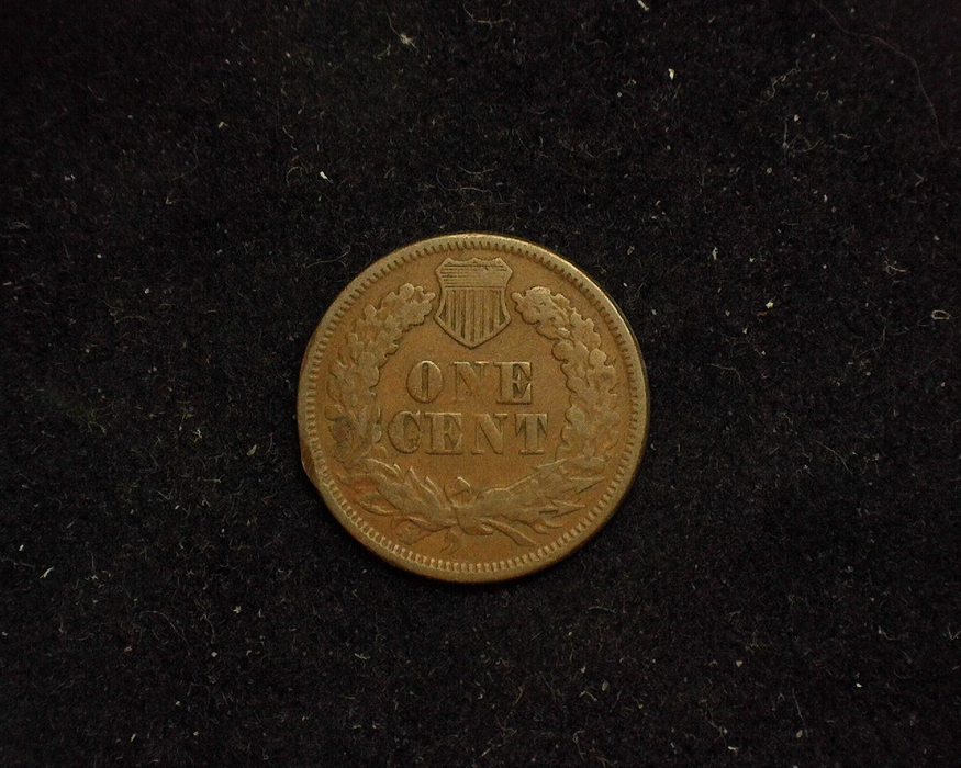1868 Indian Head VG Reverse - US Coin - Huntington Stamp and Coin
