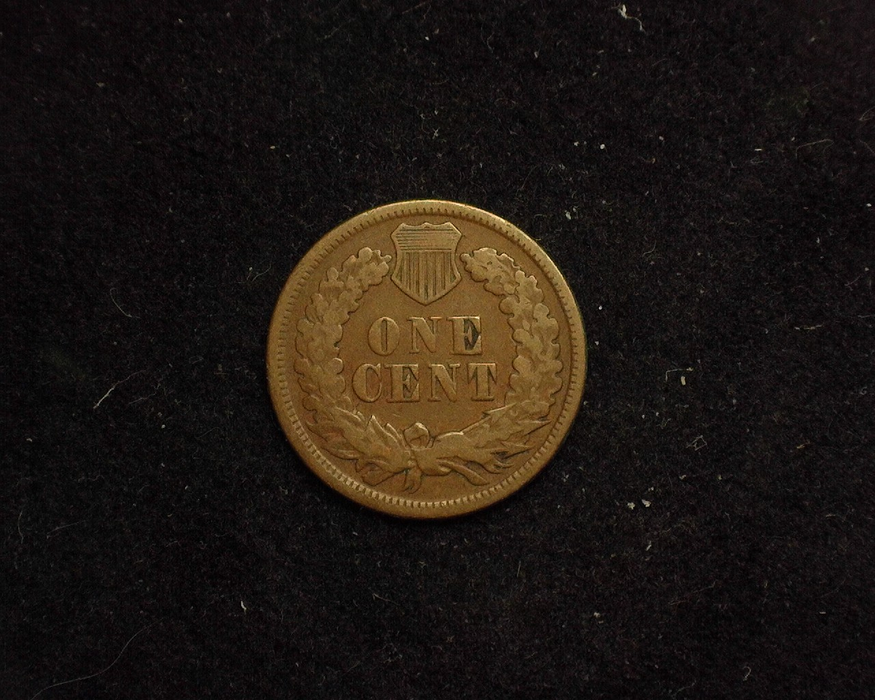 1870 Indian Head G/VG Reverse - US Coin - Huntington Stamp and Coin