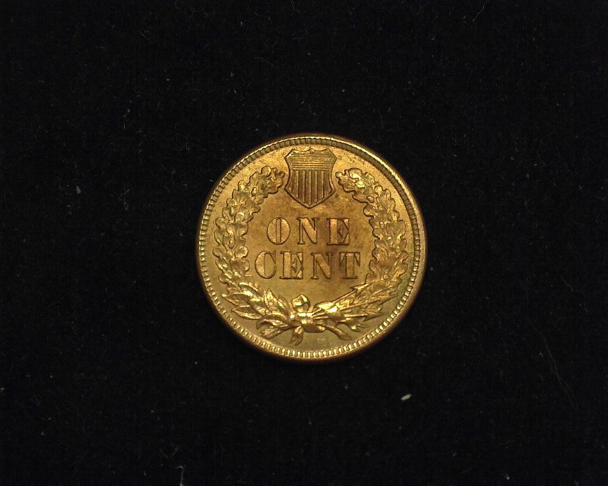 1875 Indian Head AU Reverse - US Coin - Huntington Stamp and Coin