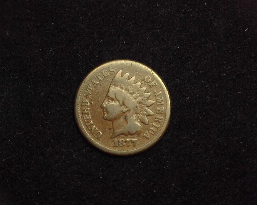 1877 Indian Head G+ Obverse - US Coin - Huntington Stamp and Coin