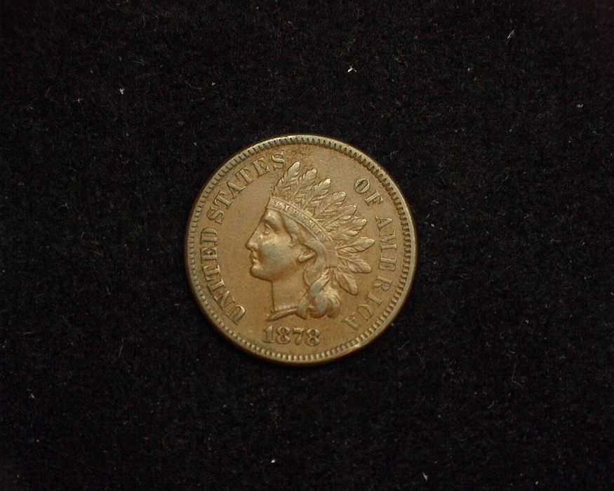1878 Indian Head VF/XF Obverse - US Coin - Huntington Stamp and Coin