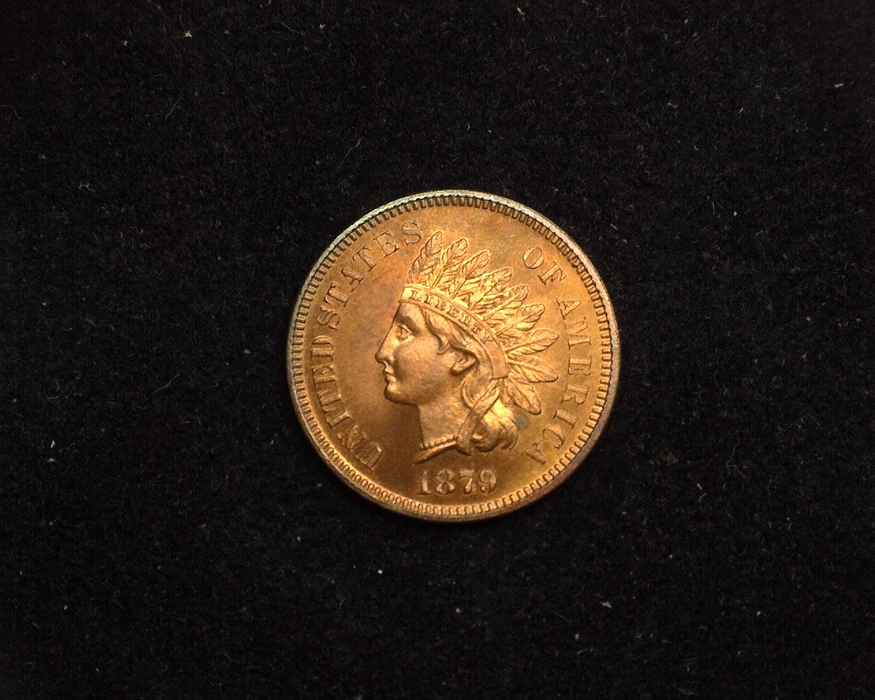 1879 Indian Head Proof - 64 Obverse - US Coin - Huntington Stamp and Coin
