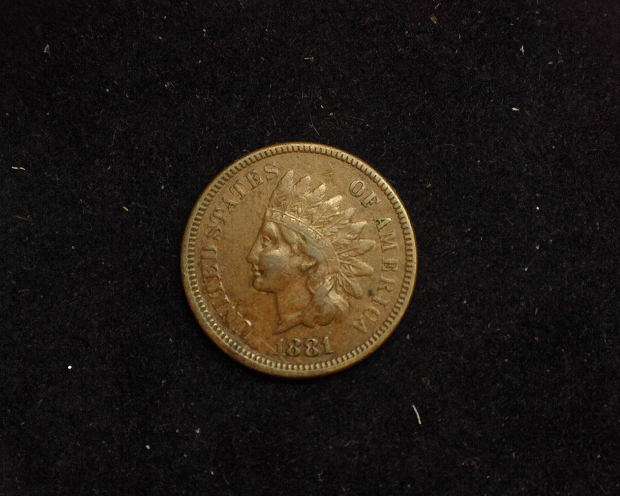1881 Indian Head VF Obverse - US Coin - Huntington Stamp and Coin