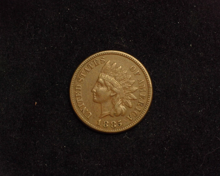 1885 Indian Head VF Obverse - US Coin - Huntington Stamp and Coin