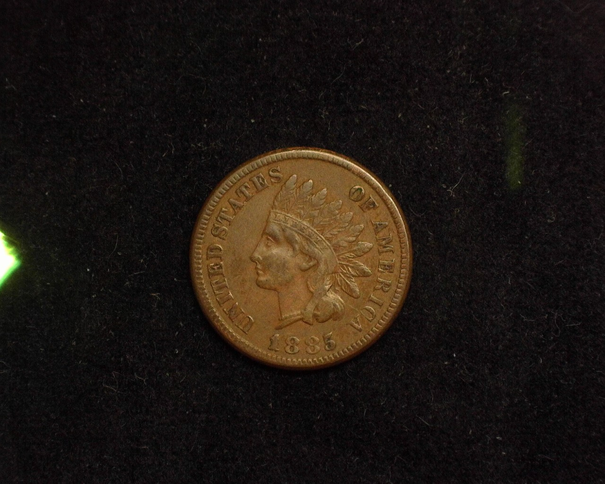 1885 Indian Head XF Obverse - US Coin - Huntington Stamp and Coin