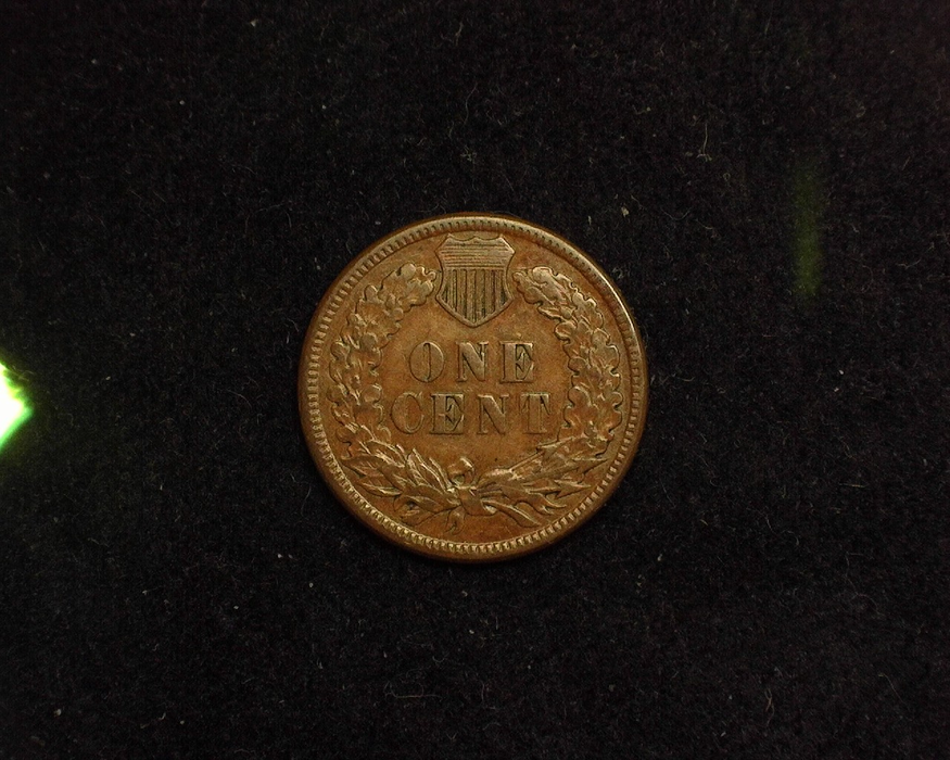 1885 Indian Head XF Reverse - US Coin - Huntington Stamp and Coin