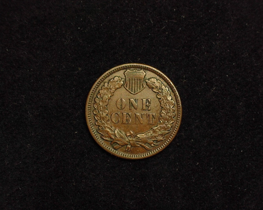 1886 Indian Head VF/XF Variety II Reverse - US Coin - Huntington Stamp and Coin