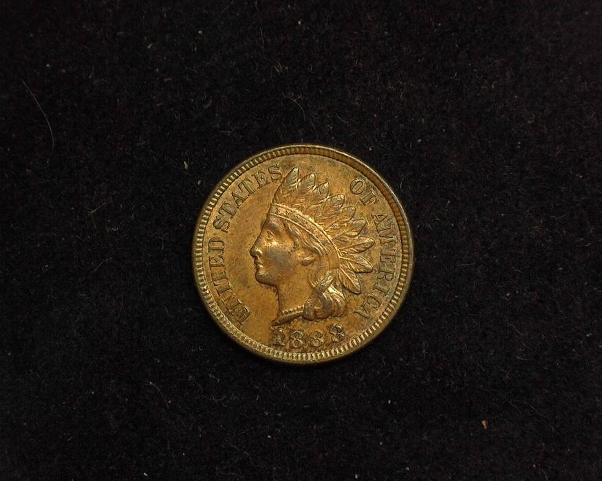 1888 Indian Head XF Obverse - US Coin - Huntington Stamp and Coin