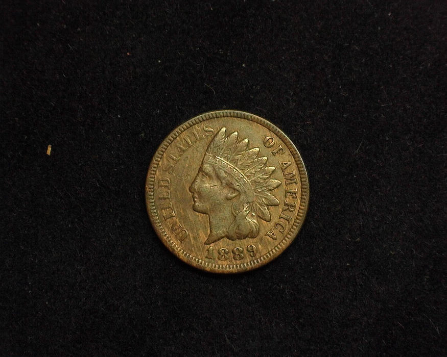 1889 Indian Head VF Obverse - US Coin - Huntington Stamp and Coin