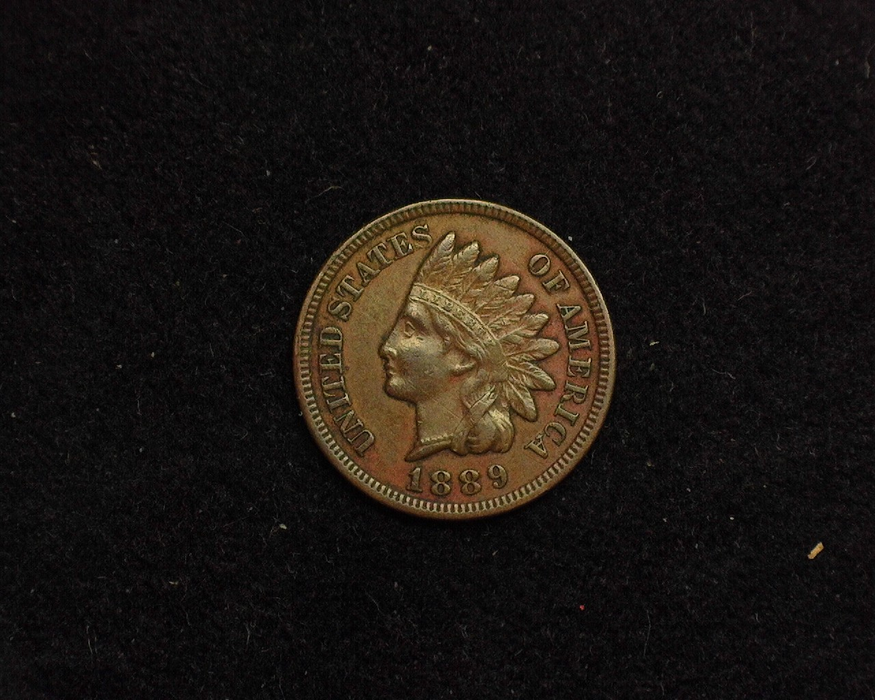 1889 Indian Head XF Obverse - US Coin - Huntington Stamp and Coin