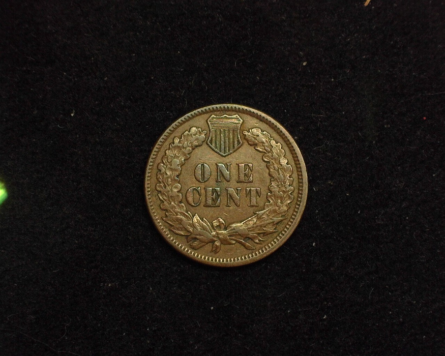 1892 Indian Head VF/XF Reverse - US Coin - Huntington Stamp and Coin