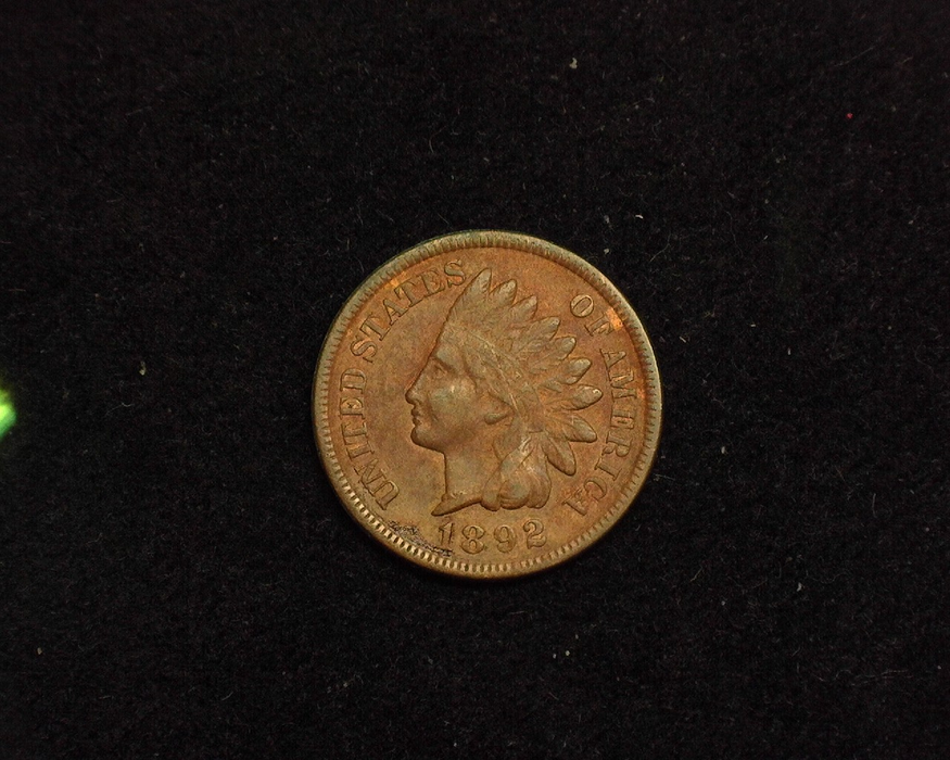 1892 Indian Head XF Obverse - US Coin - Huntington Stamp and Coin