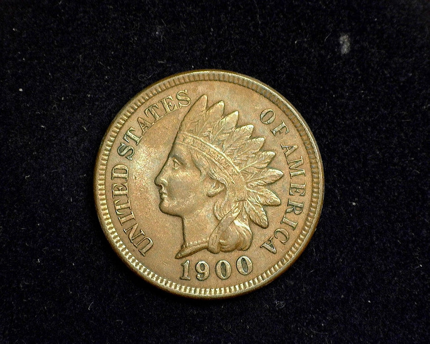 1900 Indian Head Penny/Cent XF - US Coin