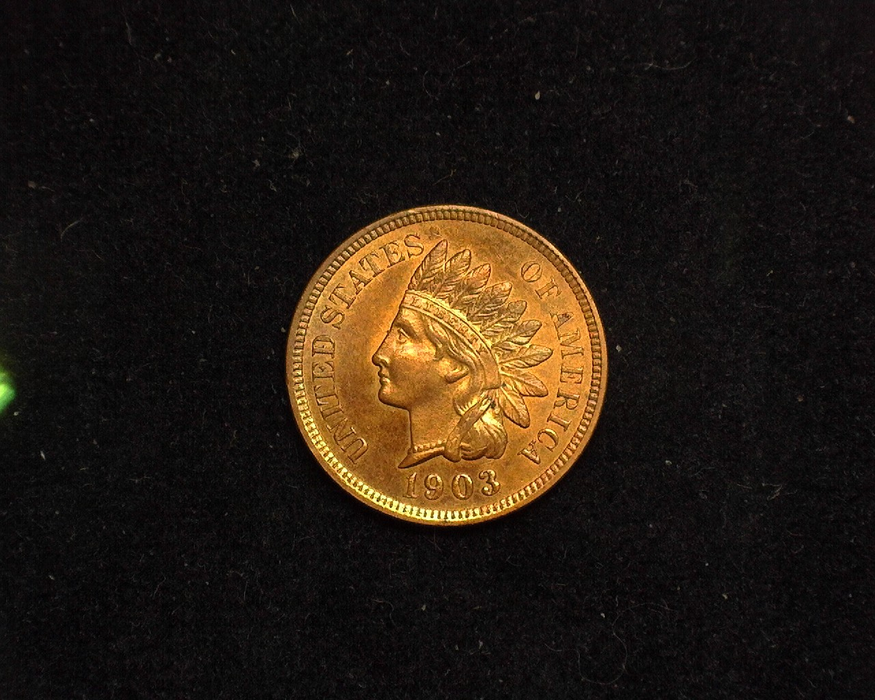 1903 Indian Head Proof Obverse - US Coin - Huntington Stamp and Coin