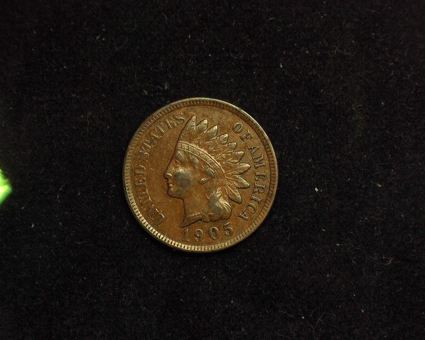 1905 Indian Head XF Obverse - US Coin - Huntington Stamp and Coin