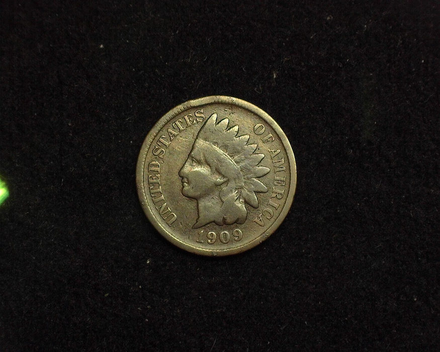 HS&C: 1909 S Cent Indian Head G/VG Coin