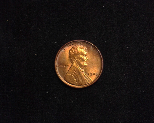 HS&C: 1909 VDB Cent Lincoln Wheat BU MS-64 Coin