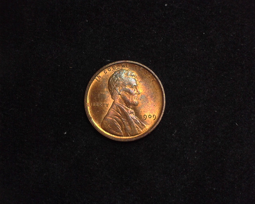 HS&C: 1909 VDB. Cent Lincoln Wheat BU Gem! Coin