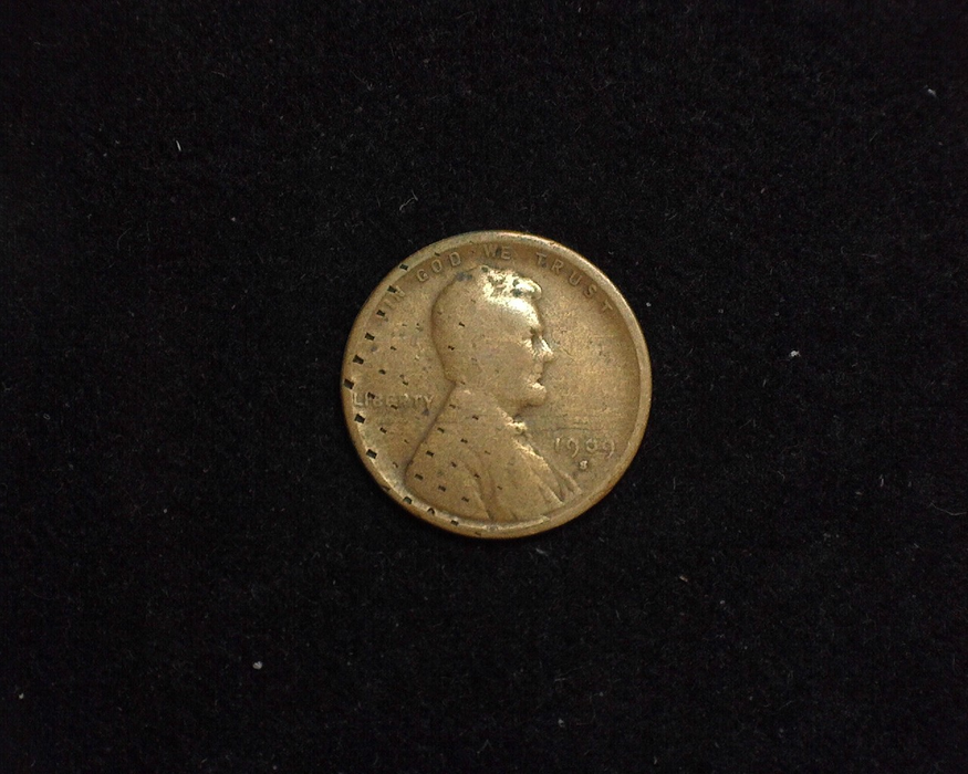HS&C: 1909 S Cent Lincoln Wheat Filler Coin