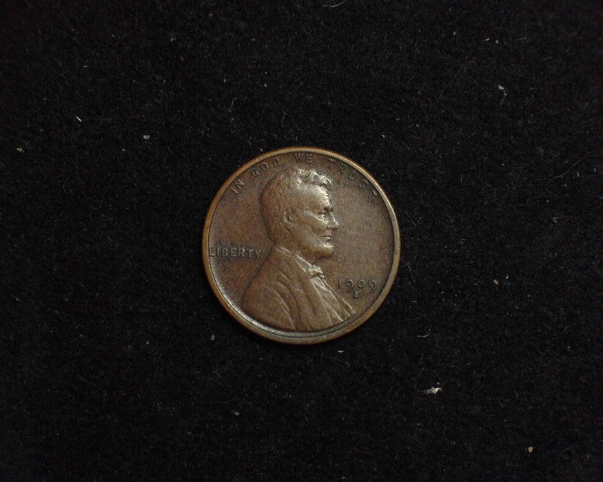 HS&C: 1909 VDB S Cent Lincoln Wheat VF Coin