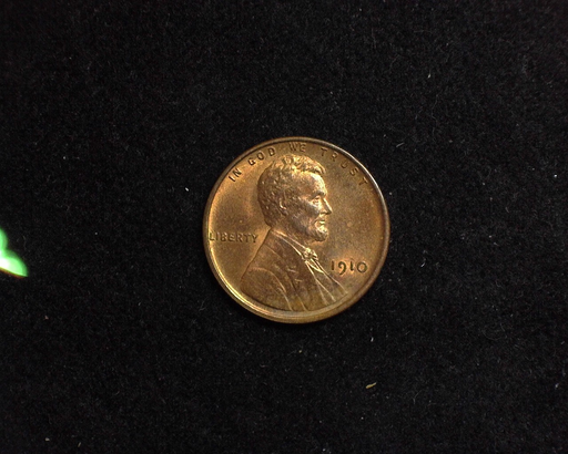 1910 Lincoln Wheat BU MS-64 Obverse - US Coin - Huntington Stamp and Coin