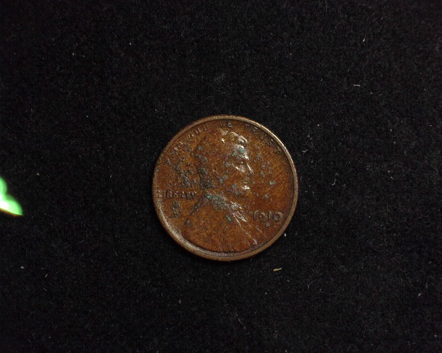1910 S Lincoln Wheat Filler Obverse - US Coin - Huntington Stamp and Coin