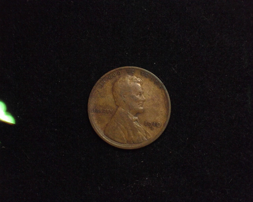 1910 S Lincoln Wheat F Obverse - US Coin - Huntington Stamp and Coin