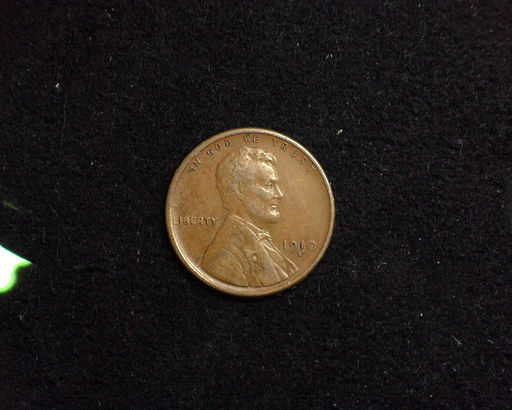 1910 S Lincoln Wheat VF/XF Obverse - US Coin - Huntington Stamp and Coin