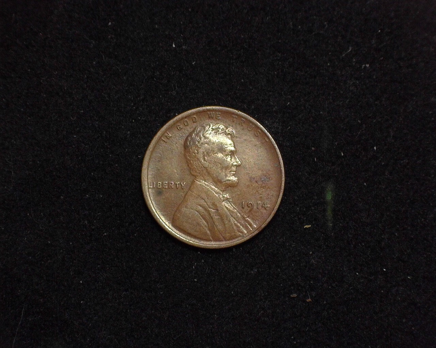 1914 Lincoln Wheat XF Obverse - US Coin - Huntington Stamp and Coin