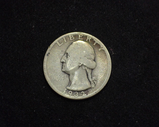 1932 D Washington VG Obverse - US Coin - Huntington Stamp and Coin