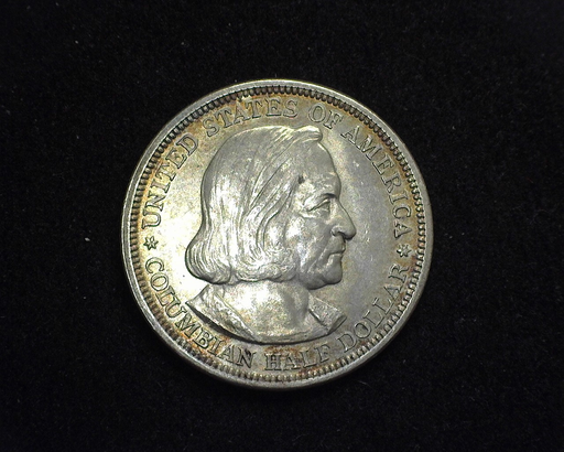 HS&C: 1892 Columbian Half Dollar Commemorative BU Coin