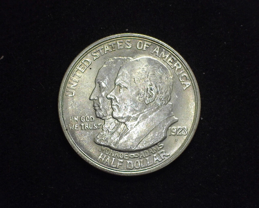 HS&C: 1923 Monroe Half Dollar Commemorative BU Coin
