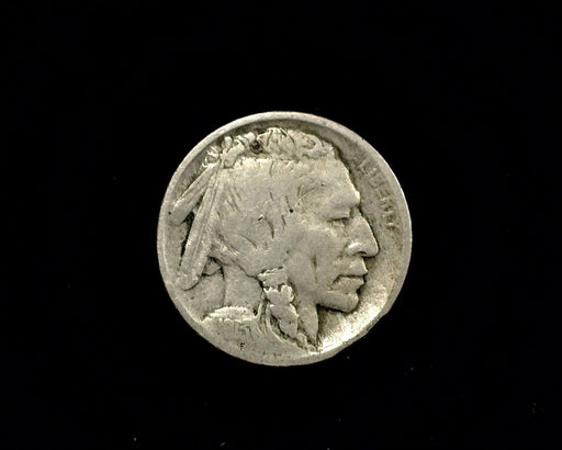 HS&C: 1913 D Type 1 Buffalo Nickel VG/F Coin